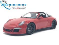 Xe Mô Hình Porsche 911 Targa Gts 1:18 Gtspirit (Đỏ)