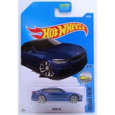 Xe mô hình tỉ lệ 1:64 Hot Wheels 2017 BMW M4 55/365 – Xanh