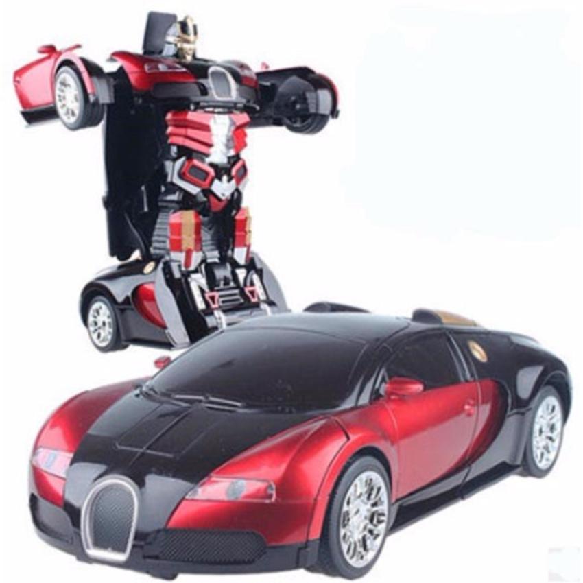 Hình ảnh Xe ô tô biến hình siêu nhân