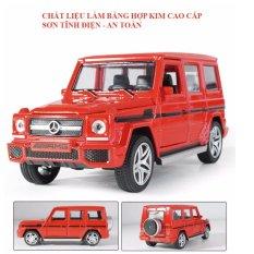 Xe ô tô đồ chơi mô hình Mercedes – Benz bằng hợp kim cao cấp (màu đỏ)- ĐỒ CHƠI KHALITO