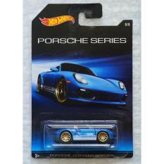 Xe ô tô mô hình tỉ lệ 1:64 Hot Wheels Porsche Series Porsche Boxter Spyder – Xanh