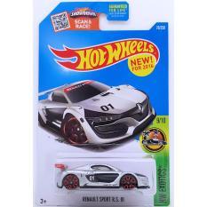 Xe ô tô mô hình tỉ lệ 1:64 Hot Wheels Renault Sport R.S 01 (Xám)