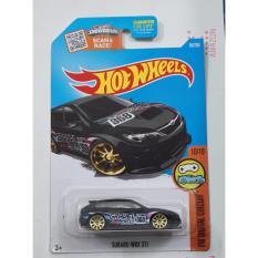 Xe ô tô mô hình tỉ lệ 1:64 Hot Wheels Subaru Wrx Sti HW Digital Circuit 10/10 (Đen)