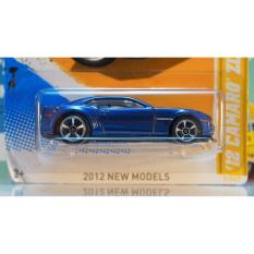 Xe ô tô mô hình tỉ lệ 1:64 Hot Wheels 2007 '12 Camaro ZL1 ( Màu xanh )