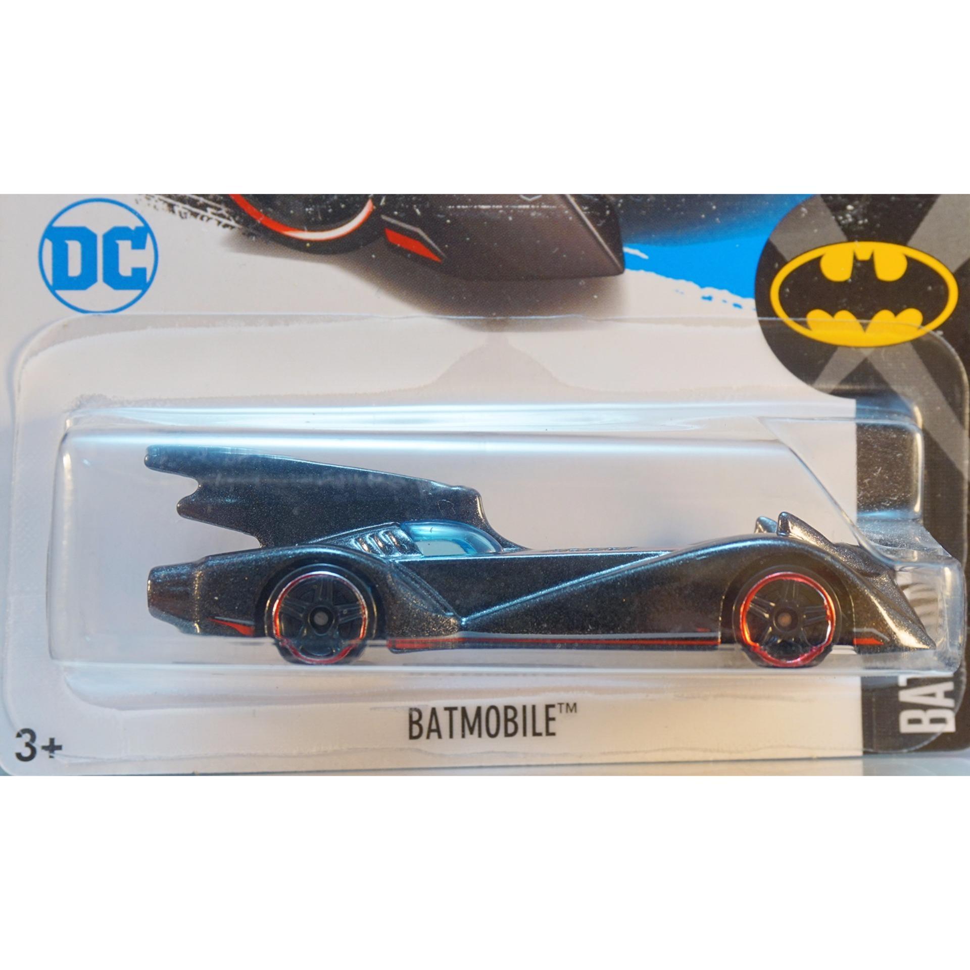 Xe ô tô mô hình tỉ lệ 1:64 Hot Wheels 2017 Batman Batmobile ( Màu Đen )