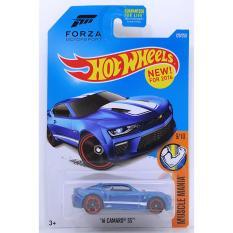 Xe ô tô mô hình tỉ lệ 1:64 Hot Wheels '16 Camaro SS ( Màu Xanh )