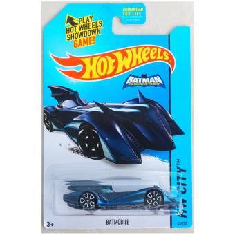 Xe ô tô mô hình tỉ lệ 1:64 Hot Wheels Batman Batmobile Hw City63/250 ( Xanh )