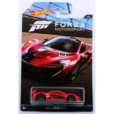 Xe ô tô mô hình tỉ lệ 1:64 Hot Wheels Mclaren P1 Forza Motorsport ( Màu Đỏ )