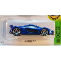 Xe ô tô mô hình tỉ lệ 1:64 Hot Wheels McLaren P1 ( Màu Xanh)