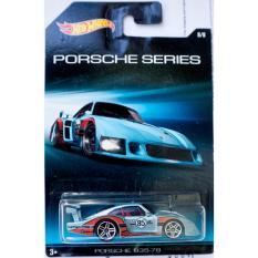 Xe ô tô mô hình tỉ lệ 1:64 Hot Wheels Porsche 935-78 ( Màu Xám )