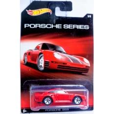 Xe ô tô mô hình tỉ lệ 1:64 Hot Wheels Porsche 959 ( Màu Đỏ )