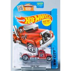 Xe ô tô mô hình tỉ lệ 1:64 Hot Wheels Xe tải cổ điển Turbine Time ( Màu Đỏ )
