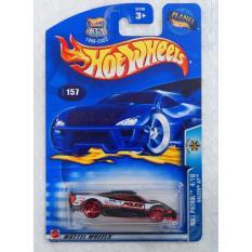 Xe ô tô siêu xe cảnh sát mô hình tỉ lệ 1:64 Hot Wheels Roll Patrol 4/10 Saleen S7 (Đen)