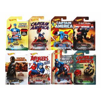 Xe siêu anh hùng Marvel HOT WHEELS DJK75