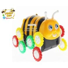 (Xem Video) Đồ chơi xe con ong 12 bánh tự nhào lộn tự lật
