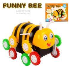 (Xem Video) Đồ chơi xe con Ong nhào lộn, 12 bánh tự lật (Funny Bee)