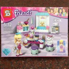 Xếp hình Friends – khu bếp của Stephanie 110 chi tiết