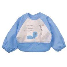 Giá Khuyến Mại Yếm áo nilon 2 lớp cho bé ăn dặm xuất Nhật