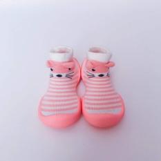 MOUSE SỌC HỒNG Giày tập đi cho bé cưng MADE IN KOREA