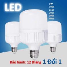 Bóng đèn led trụ tiết kiệm điện năng – giá siêu rẻ ( thân nhựa )