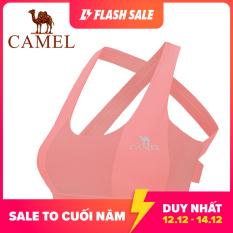 Áo ngực thể thao Camel chất co dãn chống sốc chống trượt không có vòng thép, siêu thoải mái khi mặc