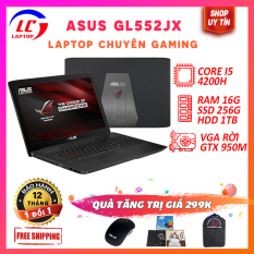 Laptop Gaming Giá Rẻ, Laptop Chơi Game Cao Cấp Asus GL552JX, i5-4200H, VGA Nvidia GTX 950M, Màn 15.6 FullHD, LaptopLC298