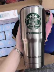 Ly giữ nhiệt Starbuck 900ml ( Hình ảnh thật)- Cốc giữ nhiệt- Tặng kèm túi- Bộ 2 ống hút- Cọ ống hút