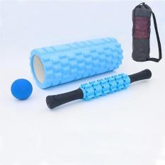 Bộ Dụng Cụ Tập Yoga Cao Cấp Gồm Con Lăn, Bóng Fascia Đơn, Gậy 6 Bánh Massage Cơ Bắp Toàn Thân – – SHOP AFAST VN