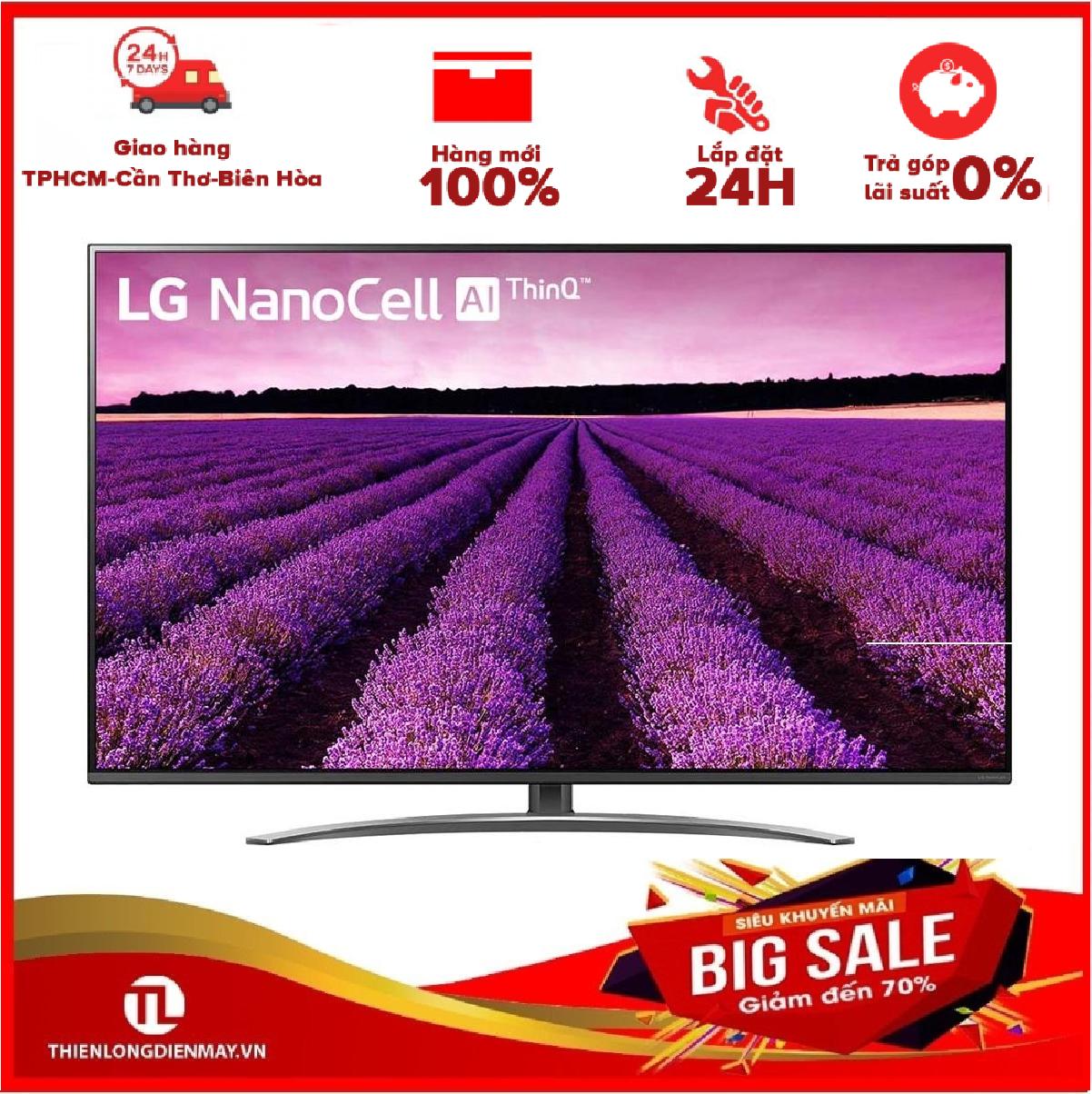 Ả GÓP 0% – Smart Tivi LG 4K 49 inch 49SM8100PTA – Hàng mới 100% – Bảo hành 2 năm