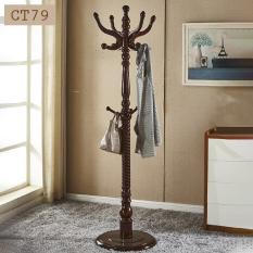 Cây treo quần áo gỗ tự nhiên phong cách tân cổ điển sang trọng CT79