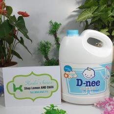 Nước giặt Dnee sản xuất tại Thái Lan, dung tích 3000ml (màu xanh – tem Đại Thịnh)