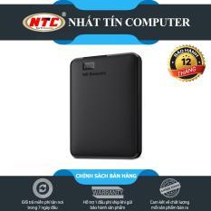 Box ổ cứng di động WD Elements chuẩn SATA III – Hỗ trợ đến 6Gbps (Đen) – Nhất Tín Computer