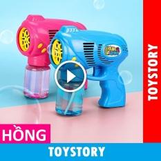 [ToyStory] Súng Bắn Bong Bóng Xà Phòng 5 Nòng Cỡ Lớn Trẻ Em Đồ Chơi Thông Minh Trẻ Em (Kèm Nước Xà Phòng)