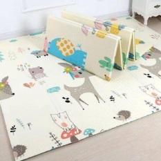 HOT HOT! SÀN XỐP RẺ VÔ ĐỊCH,Sàn xốp XPE 2 mặt phủ Silicone Hàn Quốc mẫu đẹp chống thấm tuyệt đối, chống ngã, cho bé yêu