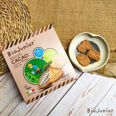 Bánh ăn dặm hữu cơ cho bé vị Cacao Bio Junior 132g từ 10 tháng tuổi trở lên