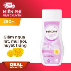 Dung dịch vệ sinh phụ nữ Betadine Gentle Protection – chai 250ml