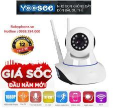 Camera Yoosee 3 râu Wifi – HD720 – Hồng ngoại – Báo trộm
