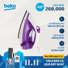 Bàn ủi hơi nước Beko SIM3617 – Mặt đế chống dính Ultra – Glide – Công suất 1750W – Lướt nhẹ ủi nhanh – Hàng chính hãng bảo hàng 12 tháng