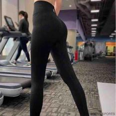 Quần NaQi tâp gym nữ lưng cao vải dệt