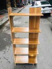( Có video ) Kệ gỗ trang trí, kệ góc tường gỗ 5 tầng [giao màu ngẫu nhiên]