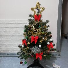 Cây Thông NOEL 90Cm + Tặng Kèm Đầy Đủ Phụ Kiện Như Hình Kèm 10 Tấm Thiệp Giáng Sinh