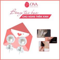 Bông tai bạc Ngọc trai nhân tạo cao cấp QKL010 phù hợp với mọi độ tuổi, thiết kế sang trọng nhưng không kém phần tinh tế thương hiệu QMJ