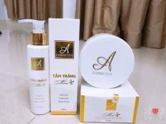 Combo Kem Tắm Trắng Mềm & Kem Body Mềm A Cosmetic (NÊN DÙNG) (Giá tốt)