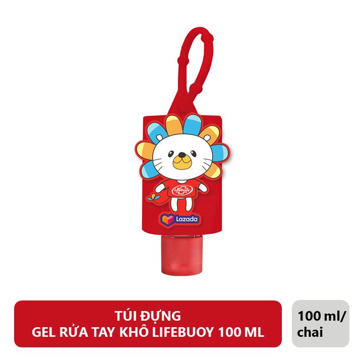 [Hàng Tặng Không Bán] – Túi Đựng Gel Rửa Tay Khô Lifebuoy (100ml)