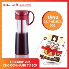 [TẶNG CÀ PHÊ SỮA 50G] Bình pha trà cà phê Cold Brew Hario 1L – LIGHT COFFEE