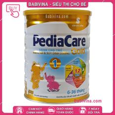 [CHÍNH HÃNG] Sữa Bột Pediacare Gold 1 900g | Trẻ Từ 6-36 Tháng Tuổi Biếng Ăn, Chậm Lớn, Suy Dinh Dưỡng, Thấp Còi | Babivina