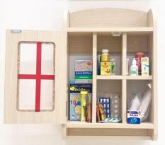 Tủ thuốc y tế gỗ cao cấp