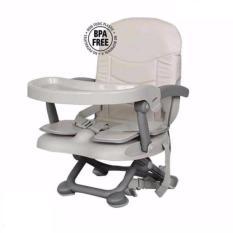 Ghế ngồi ăn dặm cho bé có lót da – gập gọn và điều chỉnh độ cao Mastela 1013A – Bảo hành 12 tháng – BPA FREE