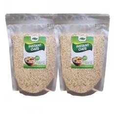 2 gói yến mạch Úc instant oats cán vỡ giúp giảm cân, bé ăn dặm, tăng cơ susuto shop