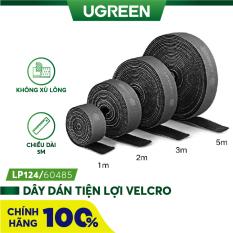 Dây dán Velcro tiện dụng màu xám dài 1-5M UGREEN LP124 – Hãng phân phối chính thức